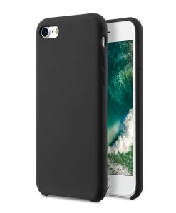 "Melkco Aqua Silicone Case for Apple iPhone 7 / 8 (4.7"") - ( Black )"