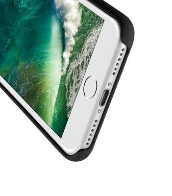 """Melkco Aqua Silicone Case for Apple iPhone 7 / 8 (4.7"""") - ( Black )"""