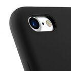 """Melkco Aqua Silicone Case for Apple iPhone 7 / 8 (4.7"""") – ( Black )"""