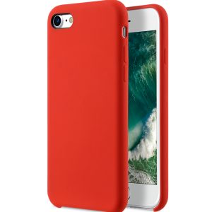 "Melkco Aqua Silicone Case for Apple iPhone 7 / 8 (4.7"") - ( Red )"