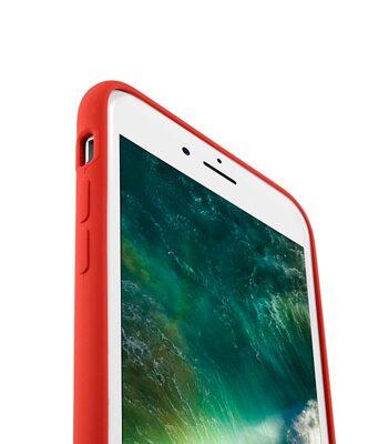 "Melkco Aqua Silicone Case for Apple iPhone 7 / 8 (4.7"") - ( Red )"