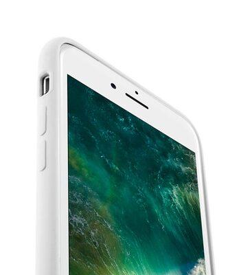"Melkco Aqua Silicone Case for Apple iPhone 7 / 8 (4.7"") - ( White )"