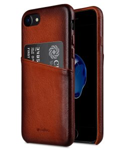 "Elite Series Premium Leather Case for Apple iPhone 7 / 8 (4.7"") - Snap Back Pocket"