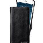 "Melkco PU Leather Case for Apple iPhone 7 / 8 (4.7"") - Alphard Type (Black PU)"