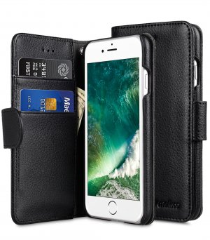 "PU Leather Case for Apple iPhone 7 / 8 (4.7"")- Wallet Book Type"