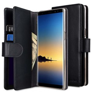 Premium Leather Case for Samsung Galaxy Note 8 - Wallet Plus Book Type