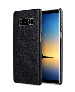 Melkco Premium Leather Snap Cover Case for Samsung Galaxy Note 8 - (Black LC)