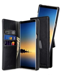 Melkco PU Leather Detachable Slim Case for Samsung Galaxy Note 8 - Alphard Type (Black PU)