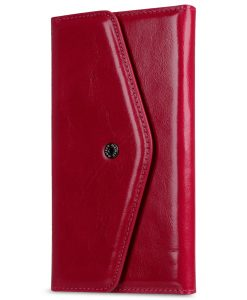 "Melkco Italian Premium Cow Leather Folio Series Book Case for Apple iPhone 6s / 6 (4.7"") - (Oliver Pink)"