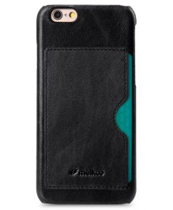 Melkco Mini PU Cases - Snap Cover With Back Card Slot for Apple iPhone 6 - Black PU