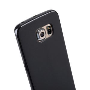 Melkco Special Edition Poly Jacket TPU (Ver.3) Cases for Samsung Galaxy S6 Edge - Black Mat