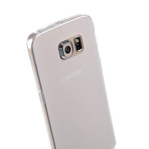 Melkco Special Edition Poly Jacket TPU (Ver.3) Cases for Samsung Galaxy S6 Edge - Transparent Mat
