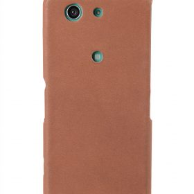 Melkco Premium Leather Case for Sony Xperia Z3 Compact / Z3 Mini- Jacka Type (Classic Vintage Brown)