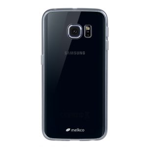 Melkco PolyUltima Cases for Samsung Galaxy S6 Edge - Transparent Black