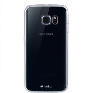 Melkco PolyUltima Cases for Samsung Galaxy S6 Edge - Transparent