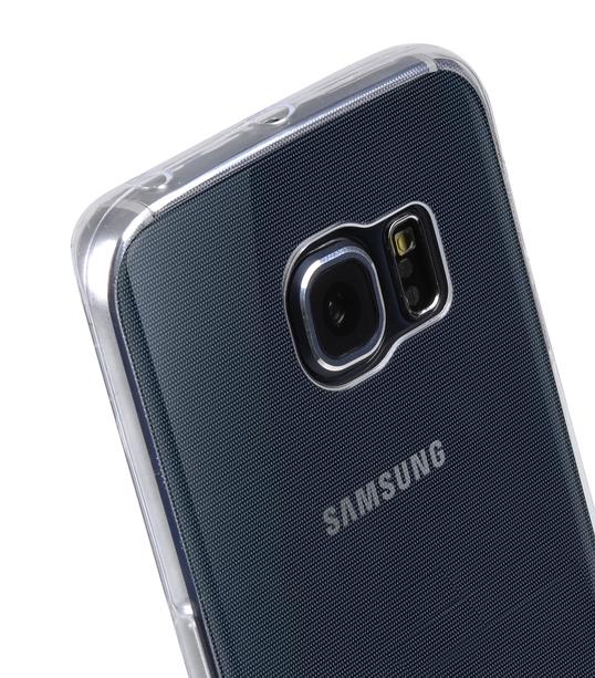 Melkco Superlim TPU Cases for Samsung Galaxy S6 Edge - Transparent
