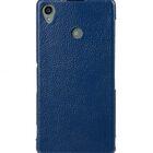 Melkco Premium Leather Case for Sony Xperia Z3 D6653 – Jacka Type (Dark Blue LC)