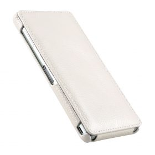 Melkco Premium Leather Case for Sony Xperia Z3 D6653 – Jacka Type (White LC)