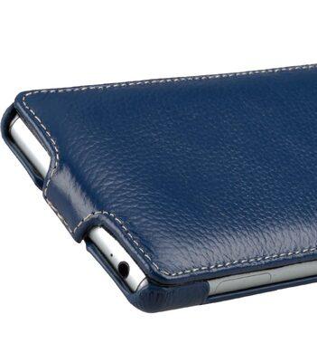 Melkco Premium Leather Case for Sony Xperia Z3 D6653 - Jacka Type (Dark Blue LC)