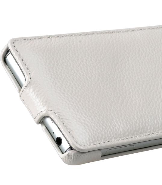 Melkco Premium Leather Case for Sony Xperia Z3 D6653 - Jacka Type (White LC)