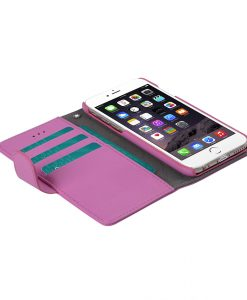 "Melkco Mini PU Cases Wallet Book Type for Apple iPhone 6 (4.7"") - Pink PU"