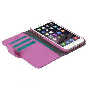 """Melkco Mini PU Cases Wallet Book Type for Apple iPhone 6 (4.7"""") - Pink PU"""