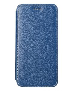 "Melkco Premium Leather Cases for Apple iPhone 6 (4.7"") - Face Cover Book Type (Ver.3) (Dark Blue LC)"
