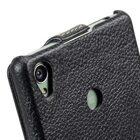 Melkco Premium Leather Case for Sony Xperia Z3 D6653 – Jacka Type (Black LC)