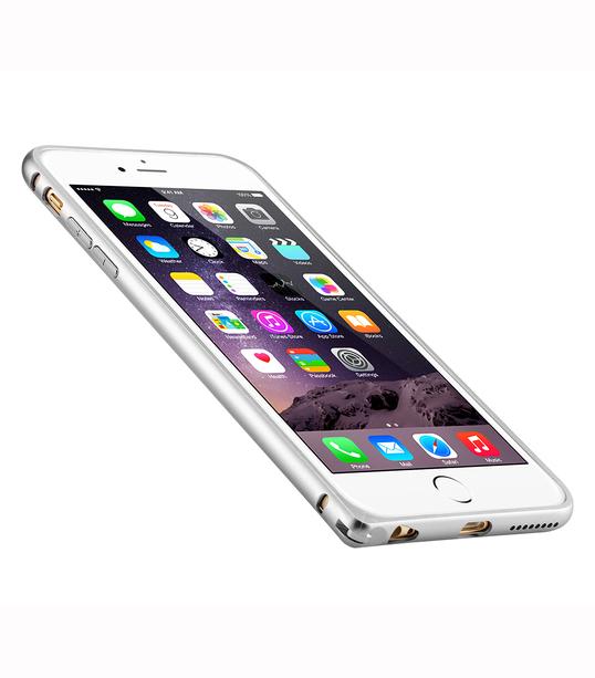 q arc aluminium bumper for apple iphone 6 plus 6s plus 5 5 melkco phone accessories. Black Bedroom Furniture Sets. Home Design Ideas