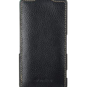 Melkco Premium Leather Case for Sony Xperia Z3 Compact / Z3 Mini- Jacka Type (Black LC)