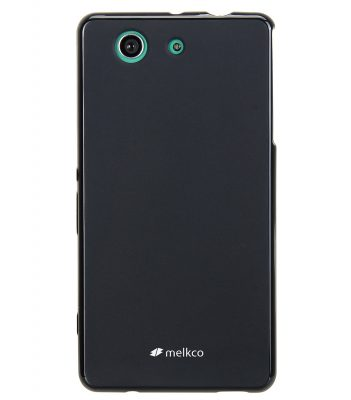 Melkco Poly Jacket TPU for Sony Xperia Z3 Mini - Black Mat