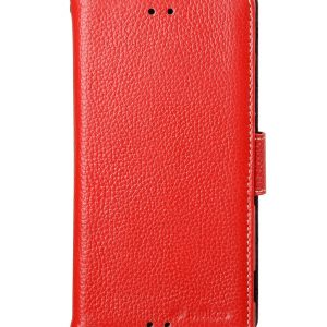 Melkco Premium Leather Cases Wallet Book Type (ver.7) for Xperia Z3 - Red LC