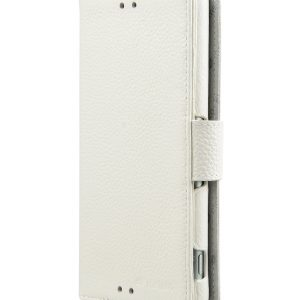 Melkco Premium Leather Cases Wallet Book Type (ver.7) for Xperia Z3 - White LC