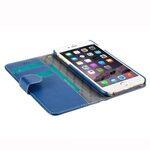 "Melkco Premium Leather Cases for Apple iPhone 6 (5.5"") - Wallet Book Type (Dark Blue LC)"
