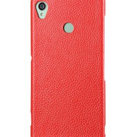 Melkco Premium Leather Case for Sony Xperia Z3 D6653 – Jacka Type (Red LC)