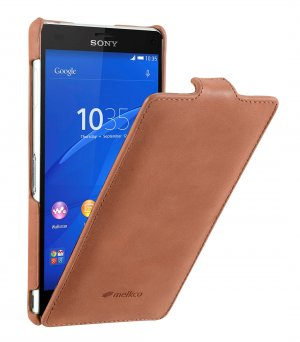 Premium Leather Case for Sony Xperia Z3 D6653 - Jacka Type