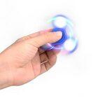 i-mee LED Light Tri-Bar Fidget Spinner – Light Blue