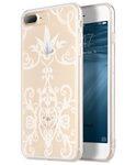 Melkco Nation Series Arabesque 2 Pattern TPU Case for Apple iPhone 7 / 8 Plus - (Transprent)