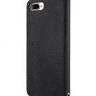 Melkco Fashion Cocktail Series slim Filp Case for Apple iPhone 7 Plus(5.5') (Black Cross pattern)
