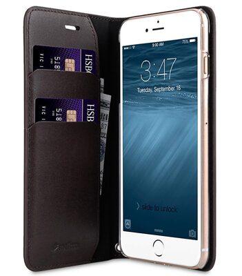 Melkco Fashion Cocktail Series slim Filp Case for Apple iPhone 7 Plus(5.5')(Italian Coffee Brown)