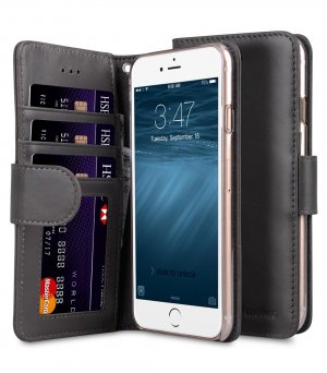 "Premium Leather Case Wallet Book ID Slot Type for Apple iPhone 7 / 8 (4.7"")"