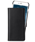 """Melkco Permium Leather Case For Apple iPhone 7 / 8 Plus (5.5"""") - Alphard (Black)"""