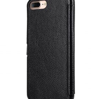 "Melkco Premium Leather Case for Apple iPhone 7 / 8 Plus(5.5"") – Booka Pocket Type (Black LC)"