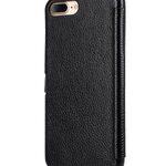 "Melkco Premium Leather Case for Apple iPhone 7 / 8 Plus(5.5"") - Booka Pocket Type (Black LC)"