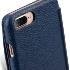 "Melkco Premium Leather Case for Apple iPhone 7 / 8 Plus(5.5"") – Booka Pocket Type (Dark Blue LC)"