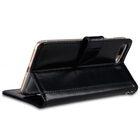 "Melkco Premium Genuine Leather Kingston Style Case for Apple iPhone 7 / 8 Plus (5.5"") – (Black Wax)"