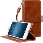 "Premium Genuine Leather Kingston Style Case for Apple iPhone 7 / 8 Plus (5.5"")"