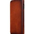 Melkco Premium Leather Case for Apple iPhone 7 Plus – Face Cover Back Slot (Tan )