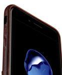 Melkco Elite Series Premium Leather Case for Apple iPhone 7 Plus - Snap Back Pocket (Tan )