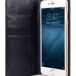 "Melkco Italian Premium Cow Leather Hex-shine Series Case Book Style for Apple iPhone 6 - 5.5"" (Italian Blue)"
